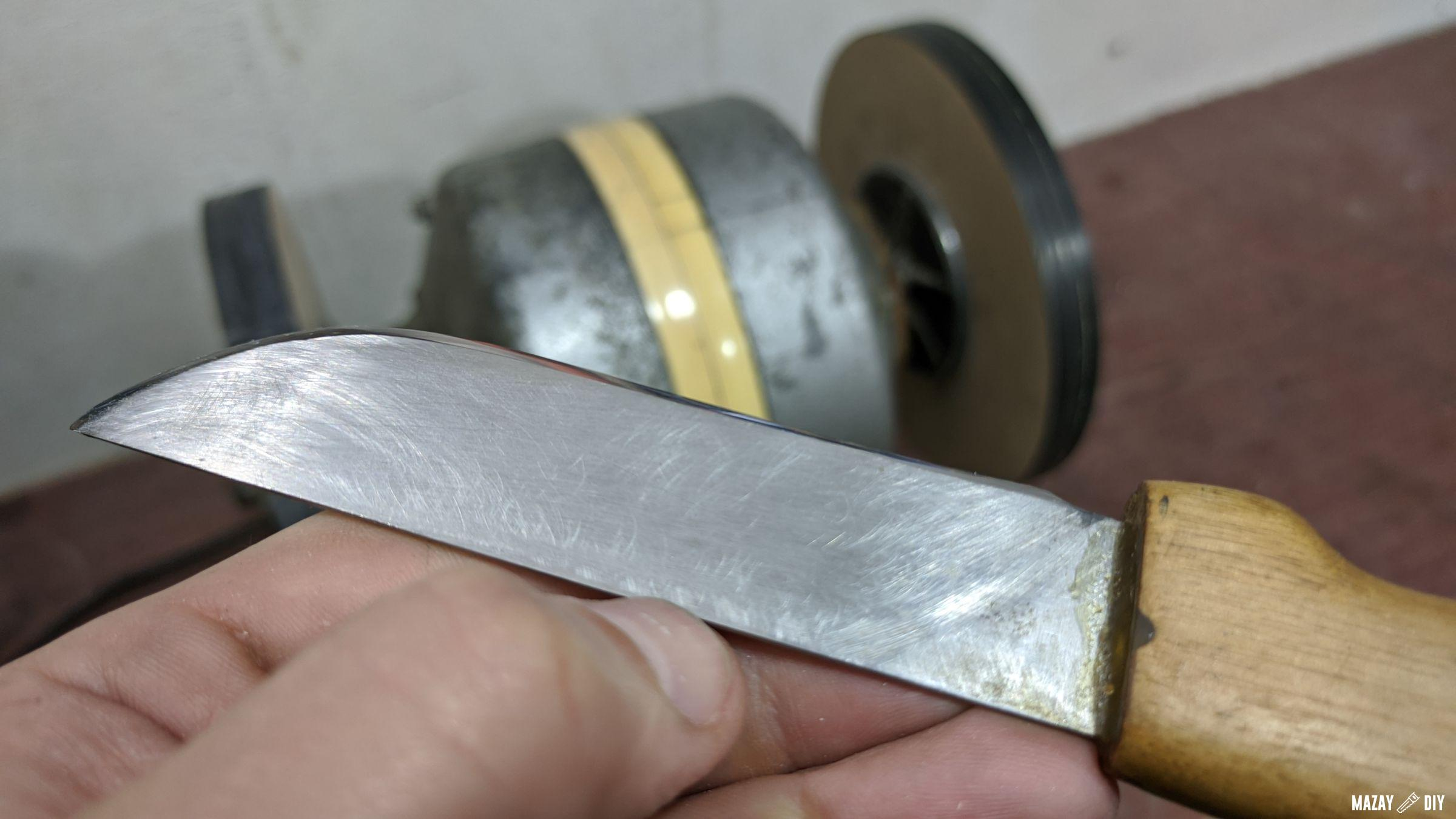 How to Sharpen a Knife to Razor Sharpness