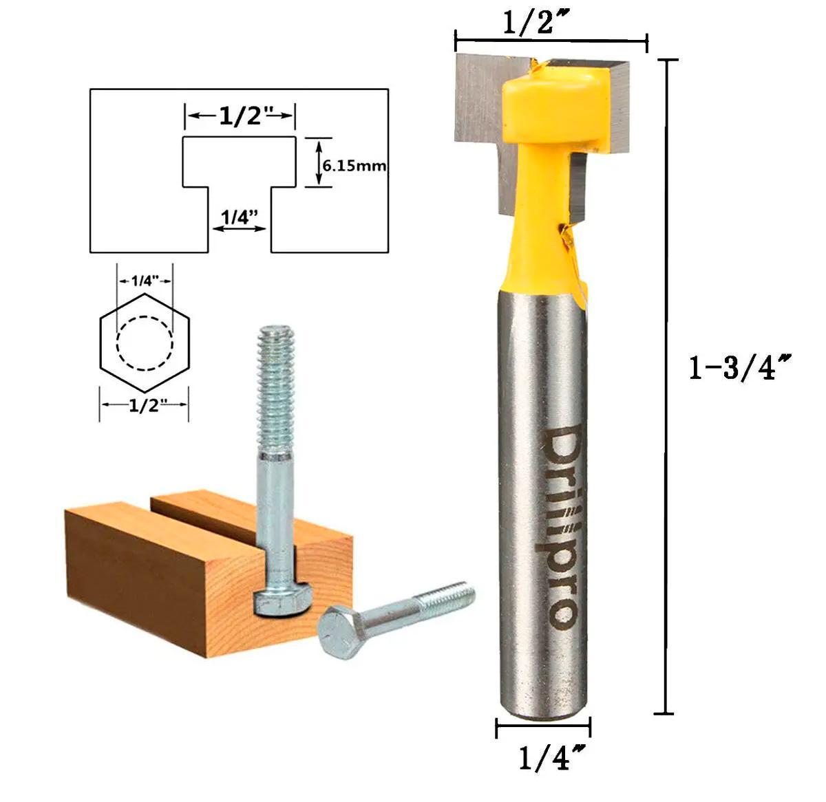 t-slot measurements